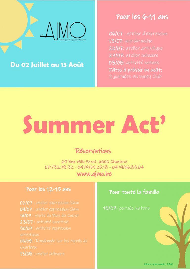 Summer Act'